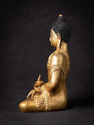 Old bronze Nepali Medicine Buddha