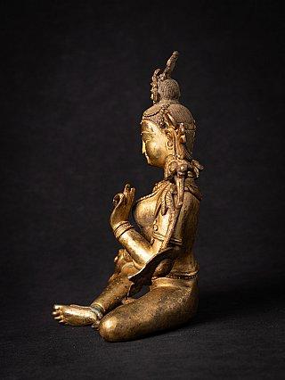 Old bronze Nepali Green Tara