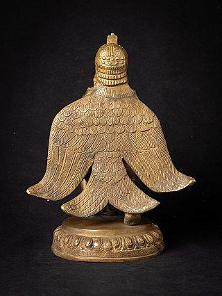Nepali bronze Garuda statue