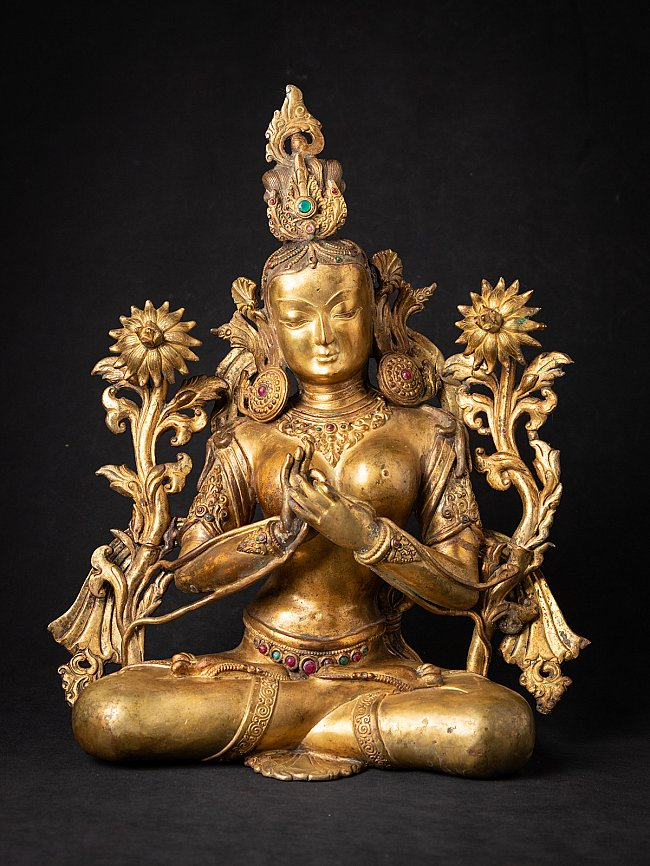 Special large bronze Nepali White Tara