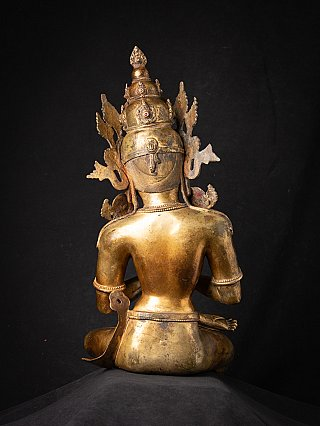 Special old bronze Nepali Bodhisattva statue