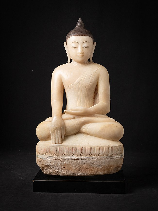Special antique alabaster Buddha statue