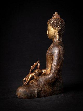Nepali bronze Medicine Buddha statue