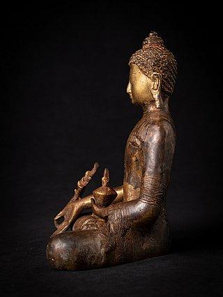 Bronzen Nepalese Medicijnboeddha