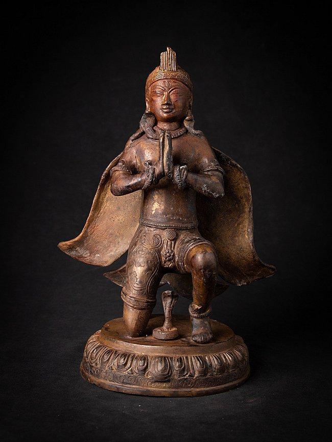 Alte bronze Nepalesische Garuda Figur