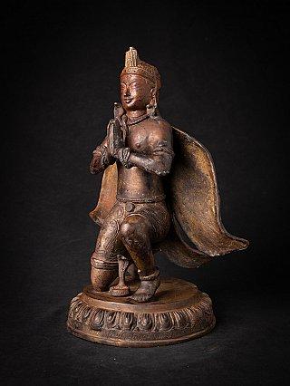 Old bronze Nepali Garuda statue