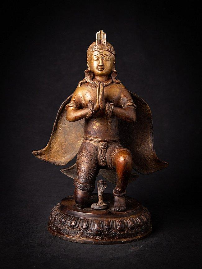 Oude bronzen Nepalese Garuda