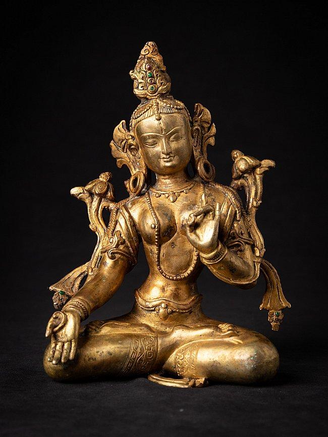 Old bronze Nepali Tara statue