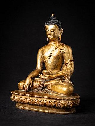 Alte bronze Nepalesische Buddha