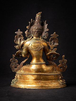 Old bronze Nepali White Tara statue