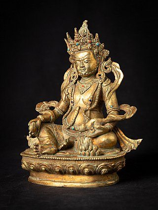 Old bronze Nepali Jhambala statue