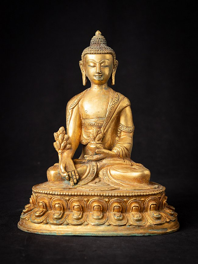 Old bronze Nepali Medicinebuddha