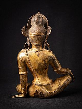 Alte bronze Nepalesische Indra Figur