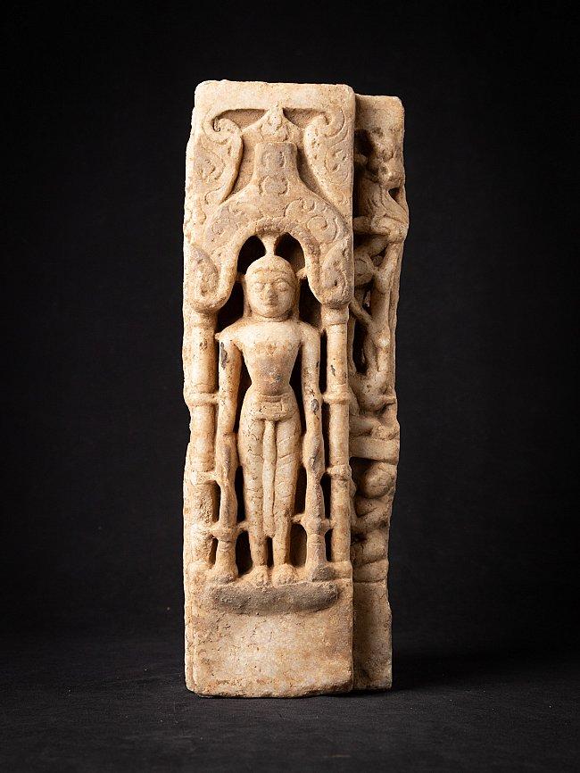 Antieke marmeren Jain Boeddha uit Indiase tempel