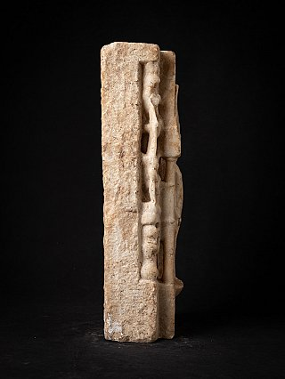 Antique marble Jain statue from an Indian temple
