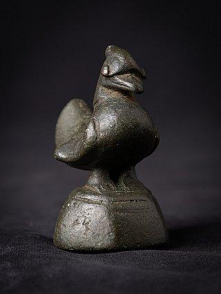 Antiek bronzen Opium Gewicht