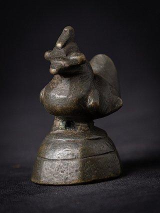 Old bronze Burmese opium weight