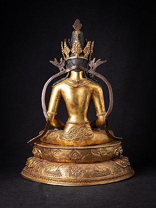 Besondere alte Nepalesische bronze Buddhafigur