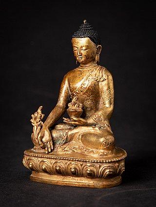 Old Nepali bronze Medicine Buddha