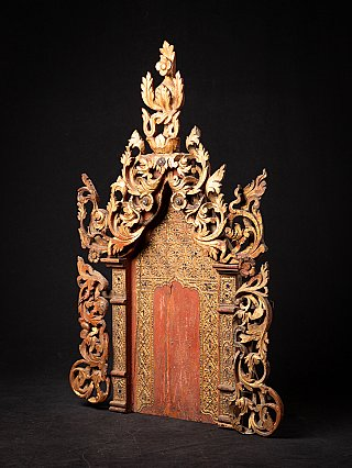 Antique Burmese Tempel panel