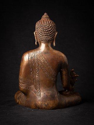 Bronze Nepali Medicine Buddha statue