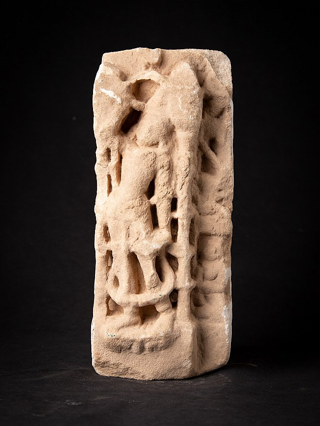 Antique marble statue from Jain temple