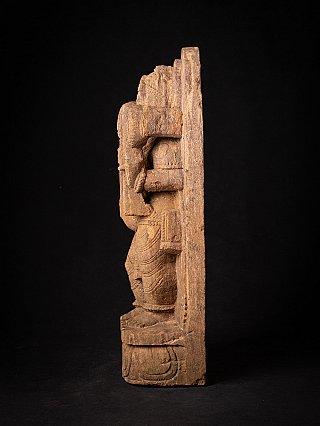 Old sandstone Hanuman statue