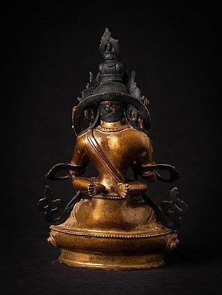 Old bronze Nepali Vajrasattva Shakti