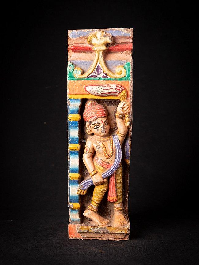 Antiek deel van een Indiase tempel