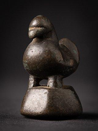 Antiek bronzen Opiumgewicht