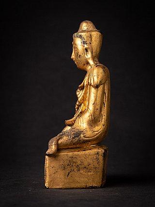 Antique wooden Burmese Buddha