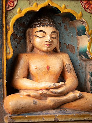 Antique Jain statue from an Indian temple