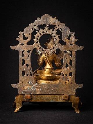 Old bronze Nepali Green Tara statue