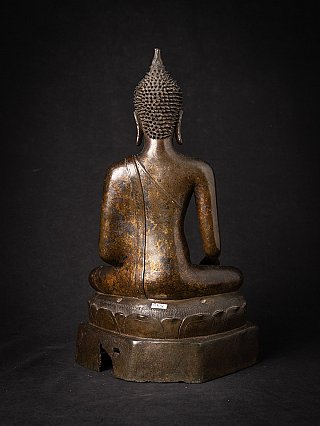 Special bronze Thai Ayutthaya Buddha statue