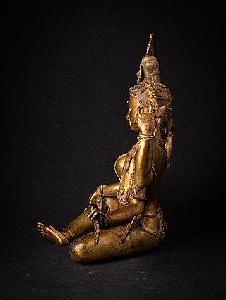 Special bronze Nepali Vasundhara statue