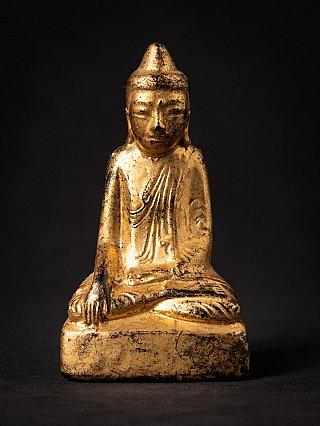 Antique wooden Burmese Shan Buddha
