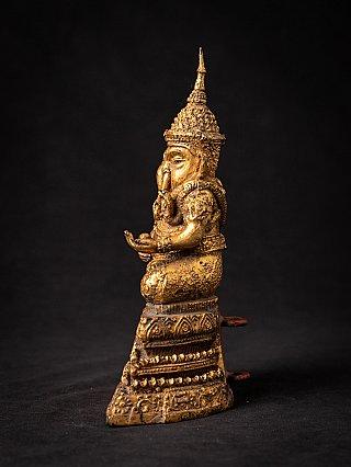 Antique bronze Thai Ganesha statue
