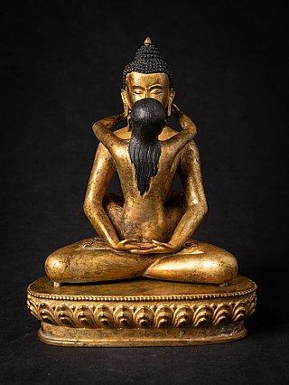 Old bronze Nepali Samantabhadra statue