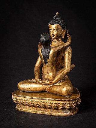 Alte bronze Nepalesische Samantabhadra Figur