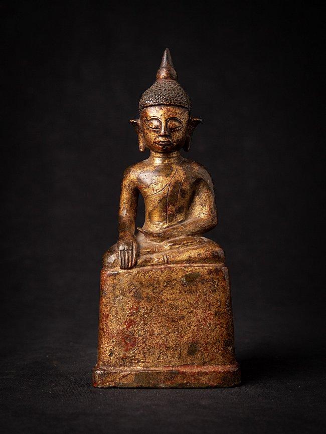 Antiek bronzen Lanna Boeddhabeeld