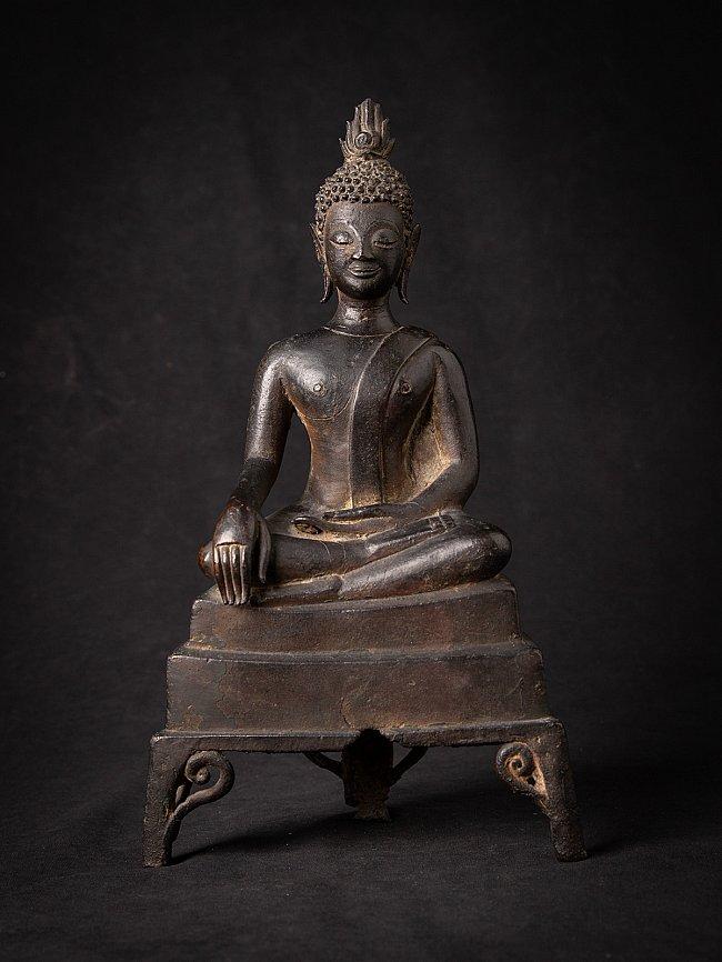 16e eeuwse bronzen Lanna Boeddha