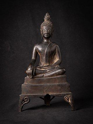 16th century bronze Lanna Buddha statue