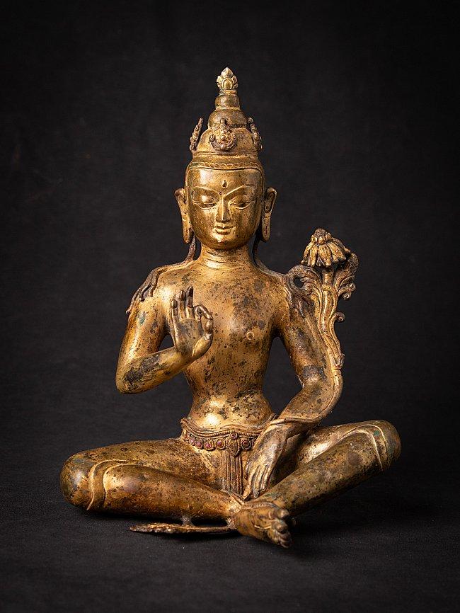 Old bronze Nepali Lokeswhor statue