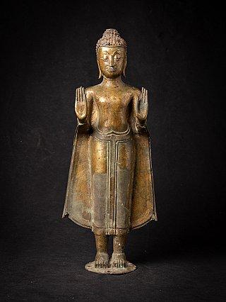 Early bronze Thai Ayutthaya Buddha statue