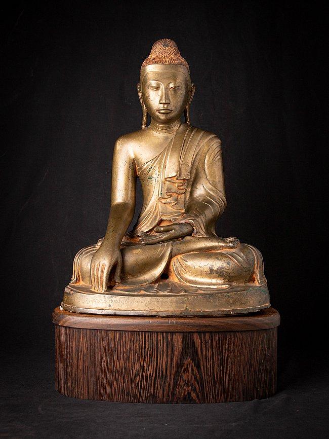 High quality bronze Burmese Mandalay Buddha