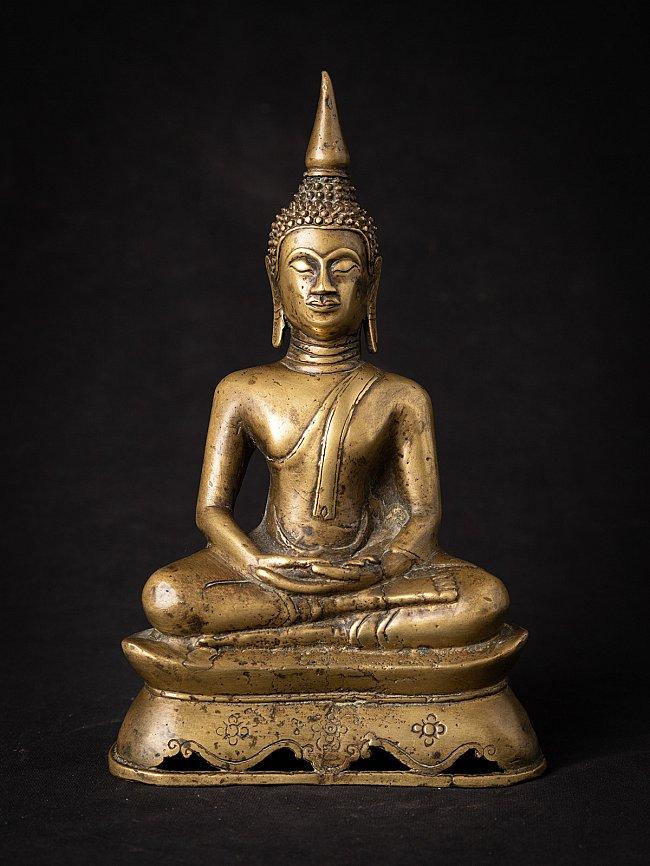 Antique bronzen Thai Buddha statue