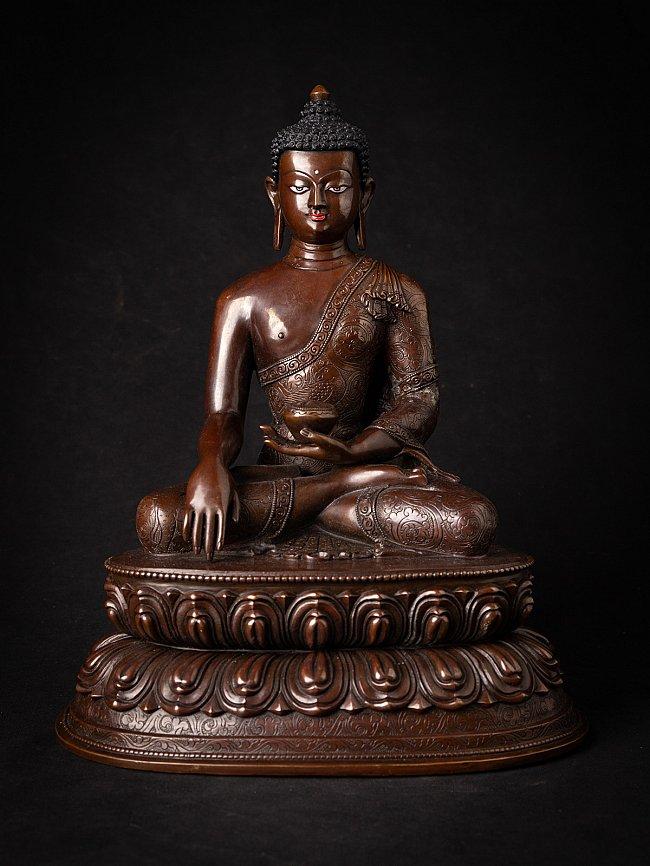 High quality bronze Nepali Buddha statue