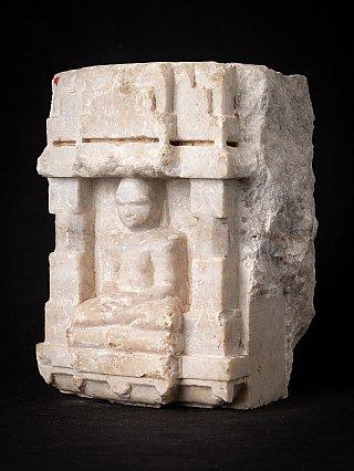 Antique marble Jain statue