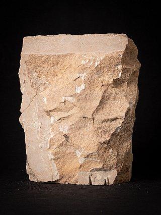 Antique sandstone Jain statue