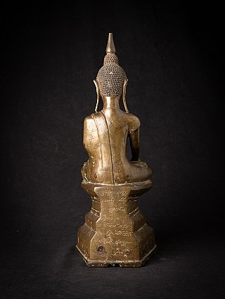 Special antique bronze Shan Buddha statue